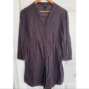 Gray H&M Tunic Dress